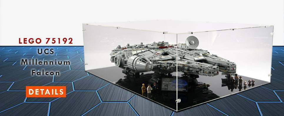 Lego 75192 UCS Millennium Falcon Display Case
