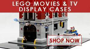 Lego Movies and TV Display Cases