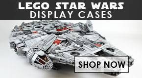 Lego Star Wars Display Cases