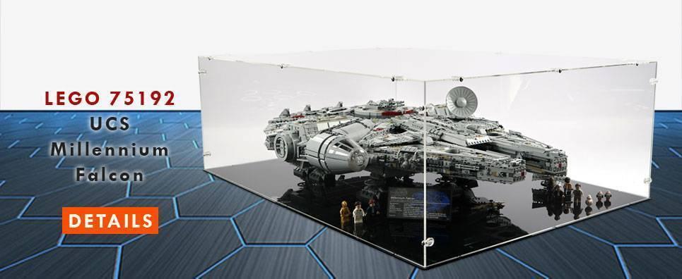Lego 75192 UCS Millennium Falcon Display Case